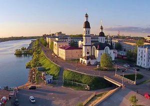 Веб-камера Архангельска в реальном времени