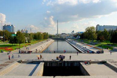 Веб-камера Екатеринбург, Плотинка в реальном времени