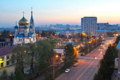 Веб-камера Омска в реальном времени