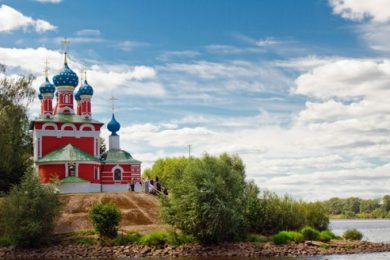 Веб-камера Углич (Ярославская область) в реальном времени