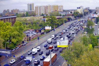 Веб-камера Москва, шоссе Энтузиастов - Пересечение с 3-м кольцом в реальном времени