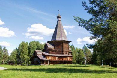 Веб-камера Архангельск деревня Малые Карелы в реальном времени