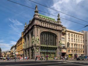 Веб-камера Елисеевский магазин, Санкт-Петербург в реальном времени