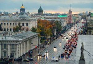 Веб-камера Невский проспект, Санкт-Петербург в реальном времени