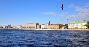 Веб-камера Пироговская набережная, Санкт-Петербург в реальном времени