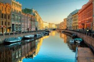 Веб-камеры Канал Грибоедова Санкт-Петербург
