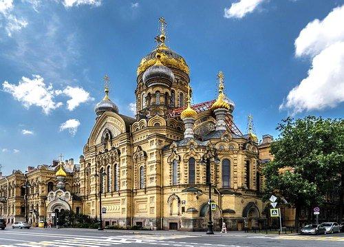 Веб-камеры Санкт-Петербург. Успенская церковь