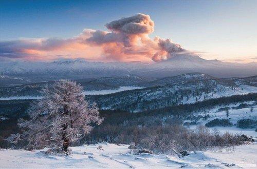 Веб-камеры Вулкан Кизимен (Камчатка)